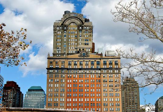West Street Financial District New York