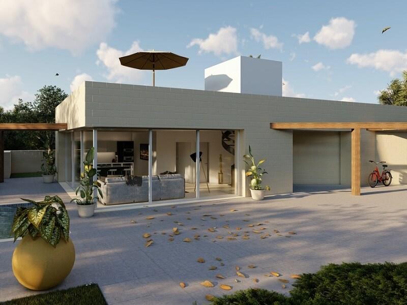 Puglia Properties Modern Villa in Carovigno