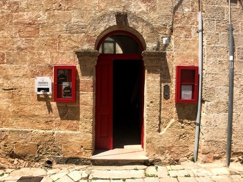 Puglia properties historical house in gagliano del capo